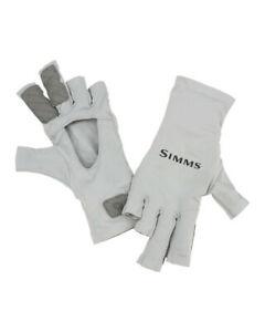 Simms SolarFlex Sun Glove - Color Sterling (Grey) Size: Extra Large (XL)