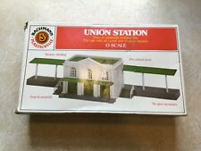 Bachmann 1958 O Plasticville Union Station Classic Building Kit 100% complete