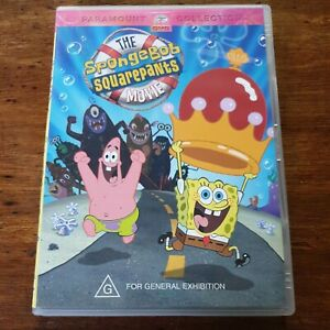 The Spongebob Squarepants Movie DVD R4 VERY GOOD - FREE POST