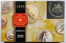 1999 Specimen Set Featuring Nunavut $2 Coin