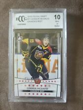 2015 ITG CHL Draft Canada's Best #11 Connor McDavid Rookie Card Graded BCCG 10