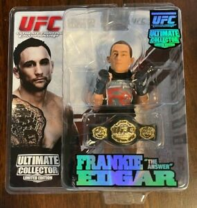 Round 5 UFC Ultimate Collector FRANKIE EDGAR Limited Edition #'d to 1500 - BELT