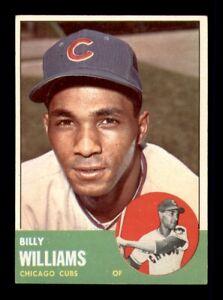 1963 Topps Set Break # 353 Billy Williams NM *OBGcards*