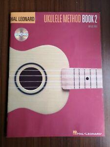 Hal Leonard Ukulele Method Book 2 & Audio by Lil' Rev (2008)