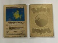 Pokemon Shining Magikarp Gold Metal Custom Card - Neo Destiny Card