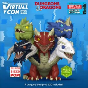 "Dungeons & Dragons - Tiamat 6"" Funko Pop! Vinyl **NYCC2021 PRE-ORDER**"