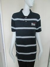 HOLLISTER SURF CUT - BLUE/WHITE STRIPED POLO shirt ,SIZE XL,COTTON BLEND