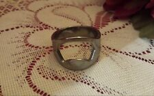 MENS RING (BEER RING) STAINLESS STEEL(SIZE 12.5)