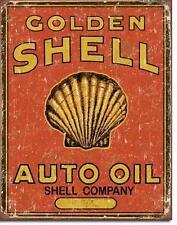 Shell USA Tankstellen Vintage Design Metall Werbung Schild