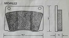 LOTUS ECLAT, 1975 ON -  NEW QUALITY FRONT BRAKE PADS