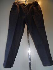 Vintage 80s Habands Polyester Jeans Trousers Slacks Golf Leisure Pants 36 Short