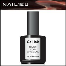 "Gel sigillante INDURENTE "" nail1eu TOP / BASE "" 7ml / Finishgel / UV per Unghie"