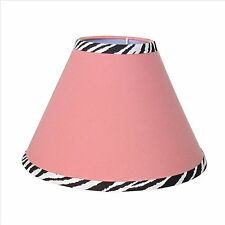 Lamp Shade - Pink Zebra by Sisi