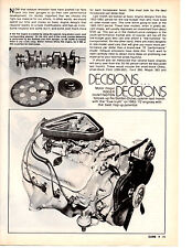 1965-1972 ENGINES - BEST HOP-UP POTENTIAL  ~   NICE ORIGINAL 6-PAGE ARTICLE