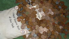 Two rolls of Wheat penny's! 1909 To 1958! A Nice Mix Of Teens to 58D!!!