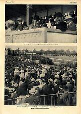 Kölner August-Meeting W.O`Conner Sieger im Rheinischen Pferderennen König...1906