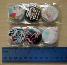NEW AUTHENTIC Japan VOCALOID IA Colorful x JIN World Calling Button Pin Set x6