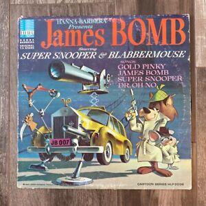 James Bomb starring Super Snooper and Blabbermouse Hanna-Barbera Vinyl Record