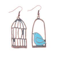Fashion Ethnic Vintage Hollow Bird Women's Dangle Retro Earrings Gypsy Jewellery