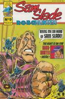 SAM SLADE ROBO HUNTER #9, VF/NM, Quality Comics, 1986 1987  more Indies in store