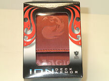 Magic the Gathering MAX Protection ION Deck Armor Red Mana Symbol Deck Box NEW