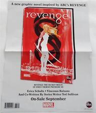 NEW     ABC TV  / Marvel    REVENGE      Double Sided  Mini  Poster