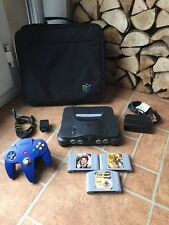 NINTENDO 64 N64 CONSOLE COMPLETE WORKING FREE POST PAL VERSION