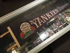 1940'S NEW YORK YANKEES AMERICAN LEAGUE CHAMPS 26.5'' PENNANT VERY CLEAN