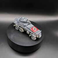 Painted 28mm Bolt Action German Armoured Car (Handmade)Perfect For Wargaming ww2