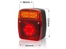 LED Rückleuchte Heckleuchte Mehrfachlampe Schlusslicht Li/Re 4in1 12/24V Nr 475