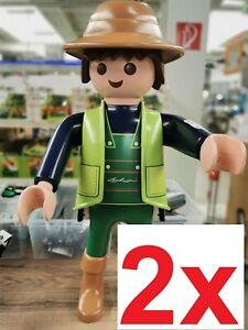 2x PLAYMOBIL Lechuza XXL Gardener 66cm - GRANDE GIGANTE STANDING