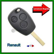 Carcasa De Telemando Renault 3 Botones Clio Modus Twingo Kangoo + Llave