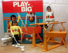 Vintage 1976 PLAY BIG #5983 Olympic Games Olimpia Playmobil Syle Sports Playset