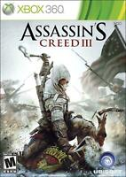 Assassin's Creed III 3 - Microsoft Xbox 360 X360 Game