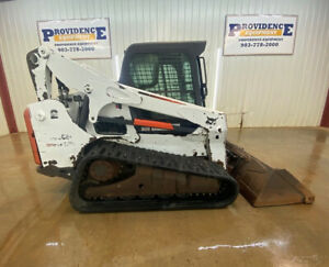 BOBCAT T770 CAB HST TRACK SKID STEER WITH A/C AND HEAT!