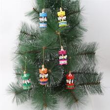 Christmas Decorations Wooden Ornament Xmas Tree Hanging Tags Pendant Decor SL