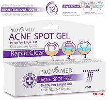 2x New Spot cream Gel for cystic acne pimple Clear skin face care treatment 10ml