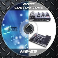 150 Patches BOSS ME-25. Multi Effects Processor. Custom Tone Library