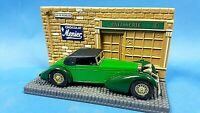 Matchbox Models of Yesteryear Y17 1938 Hispano Suiza in Green and Black