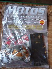N° 26 ; SUZUKI GSX HAYBUSA : moto miniature 1/18 : scellé : Maisto : altaya