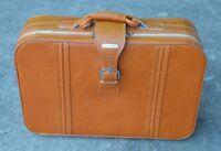 Nice Vintage Burnt ORANGE World Traveler 1970s Suitcase MINTY RARE