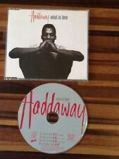 CD Maxi-Single MAXI CD HADDAWAY What Is Love