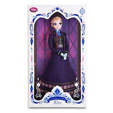 "Disney Store REGAL ELSA Doll 17"" LE Limited Edition Frozen 2015 Anna Sister NEW!"