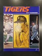 VINTAGE 1971 DETROIT TIGERS OFFICIAL YEARBOOK Kaline Martin Horton Cash