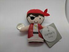 "Carter's Baby Plush Finger Puppet Pirate Boy Halloween Costume 4"""