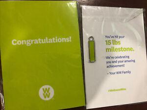 Weight Watchers WW Charm 15 lb milestone charm MyWW  MyWW+