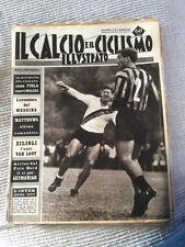 IL CALCIO E IL CICLISMO  ILLUSTRATO 1963 N°35 Inter Burgnich   23/6