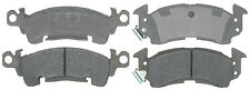 Frt Semi Met Brake Pads  ACDelco Advantage  14D52M