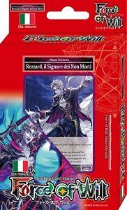 FORCE OF WILL Mazzo Introduttivo - REZZARD, il Signore dei Non-Morti (oscurità)