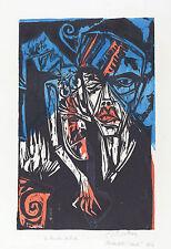 Ernst Kirchner Reproduction: Torments of Love (Qualen der Liebe)  Fine Art Print